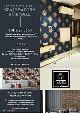Diwali Offer  Wallpapers starting@ ₹5  1BHK @3600  2BHK@5400