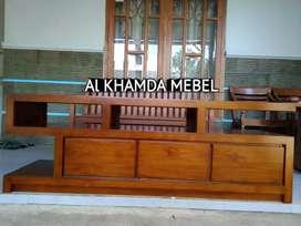 Ready Buvet Tv Minimalis Bahan Kayu Jati Monggo @494