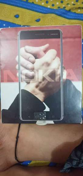 Nokia 6 with front fingerprint sensor