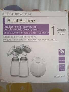 Electric breast pump merk real bubbee - pompa asi elektrik
