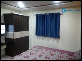 Zero brokarage ! furnished studio flat at vijay nagar square