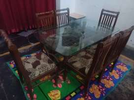 Dinning table for sale only in 8000/-.only serious buyer contact.