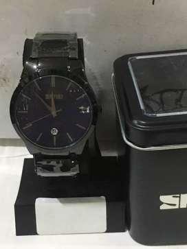 Skmei jam tangan pria analog Waters resistan