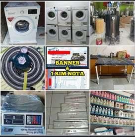 Mesin Laundry / Paket Lengkap Usaha Laundry