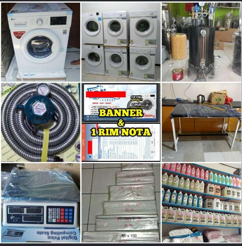BARU / Paket Lengkap Usaha Laundry