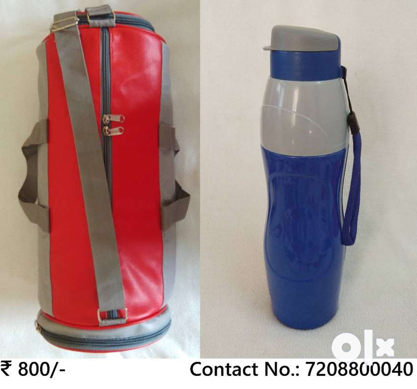 GYM/Sports/Duffel Bag with CELLO Puro Sports Bottle