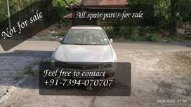 Mitsubishi Lancer not for sale All parts