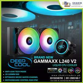 Deep Cool Brand New RGB CPU Cooler Gammax L240 V2 Available