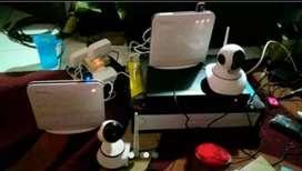 Paket CCTV Robot Online Akses 4G plus Siap Pantau Via HP Android