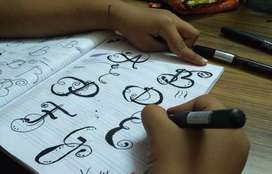Calligraphy & Handwriting Classes By Paper & Pencil Academy, Bikaner