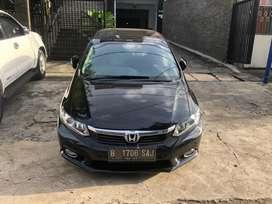 Honda Civic 2.0 2013 Pakai 2014 Hitam Matic Ori Luar dalam Automatic