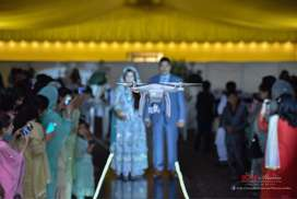 Wedding Drone Video and DSLR pictures