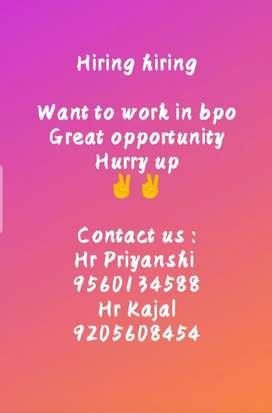 Bpo job with great salary