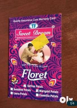 6ftx7ft double bed sweet dreams mattress 2.5yrs warranty (4inch thk) f