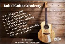 Guitar learning Classses