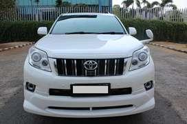 Toyota Prado TX Limited AT Putih 2010 - Unit super istimewa