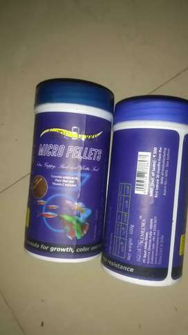 All types of fish food available