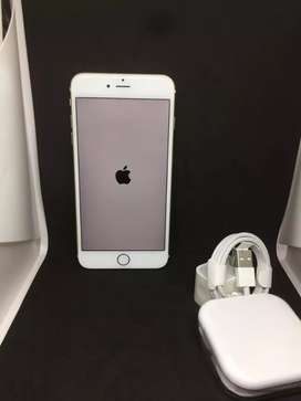 I PHONE 6S PLUS 64GB GOLD COLOUR WITH WARRANTY BRAND NEW MOBILE