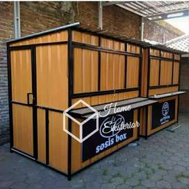 PROMO AKHIR TAHUN - CONTAINER BOOTH CUSTOM - CONTAINER FRANCHISE