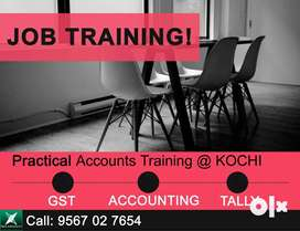 Accountant Practical Training, GST Tally Training Padivattom Palarivat