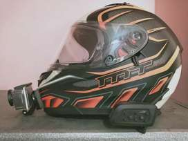 MT Blade Helmet size S + Vnetphone Intercom+ action camera