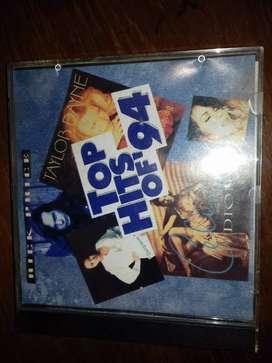 cd music top hits of 94