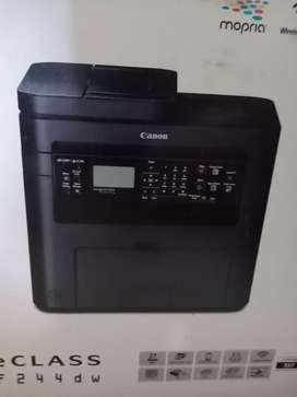 New Canon printer one month old both side printing