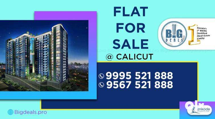 3 BHK Branded Fully-Furnished Flat for Sale at Eranjipalam, Calicut. 0