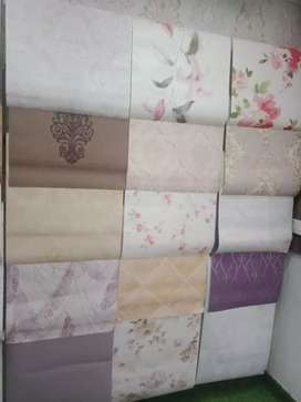 Standard collections of wallpapers for walls