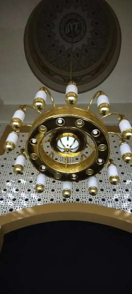 Lampu Masjid Bagus - Lampu Hias Masjid - Lampu Kubah Masjid 1.5 meter
