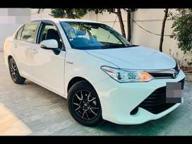 toyota corrolla axio get a monthly installment