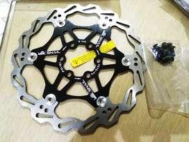 Rotor Disc Brake 160 / 6 Floating Six Bolt MTB Hybrid Road Bike Seli