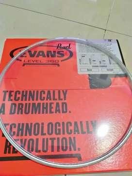 Head membran tom 10 12 14, bass drum 18