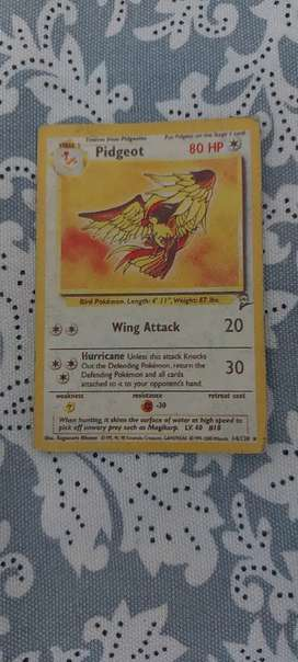 Ist edition pidgeot pokemon card