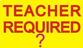 i com part ll Teacher required for two subjects