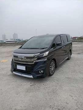 Toyota Vellfire 2.5 G Limited ATPM thn 2017