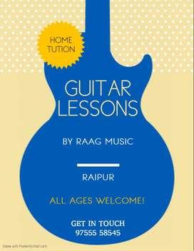Home Tution / Guitar classes/ online classes
