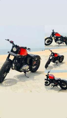 Modified royal enfield classic bulley