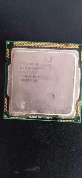 Core i7 1st jenraton Processor