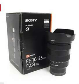 Wide Sony Top lens Sony Fe 16-35 f2.8 G master PINPACK