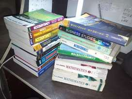 Class 12 CBSE COMMERCE + MATHS BOOKS