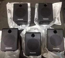 panasonic 5 surround speakers new