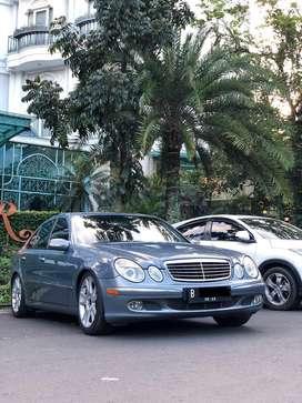 Dijual Cepat Mercedes-Benz E 200 Kompressor W211
