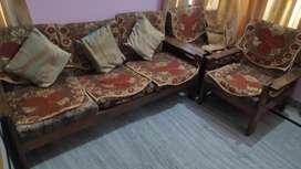 Sofa set, double bed, setti sofa