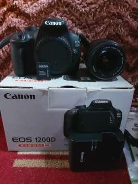 Kamera 2nd DSLR canon 1200D