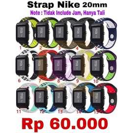 NIKE Strap Untuk Smartwatch Xiaomi Amazfit BIP/BIP LITE - Ready Stock