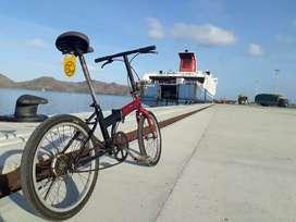 Sepeda lipat asli jepang