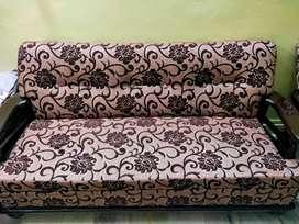 SofaTeak wood Durian Sofa set(3+2)
