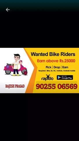 Bike Taxi Job