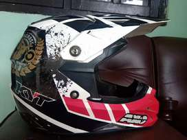 Helm KYT cross over